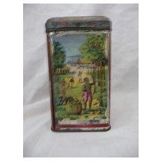 ANTIQUE Cocoa Tin - Indian Tea Planters - London - Circa 1890-1910