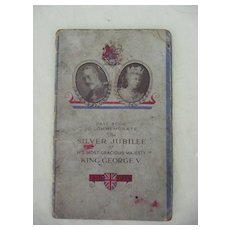 The Yorkshire Penny Bank King  GEORGE V Commemorative Pass Book 1935