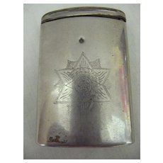 DUNRAGIT Food Products Advertising Vesta Holder Circa Early 1900's