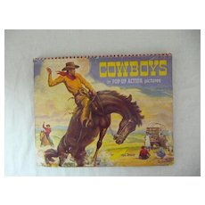 COWBOYS in Pop-Up Action Pictures - E. Joseph Dreany 1951