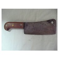 Butchers Meat Cleaver Early 1900's
