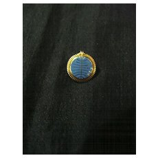 PAN AM 5 Year Staff Service Lapel Pin Circa 1960's