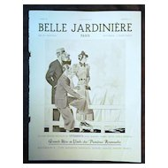 "ORIGINAL ""BELLE JARDINIERE""  Advert From  L ' Illustration French Magazine  March 1937"