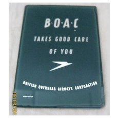 BOAC Pocket Mirror