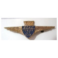 BOAC Junior Jet Club Badge