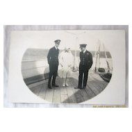 1927 Royal Tour Duke  & Duchess of York aboard H.M.S. Renown