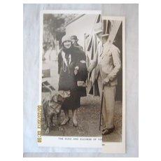 1927 Royal Tour Duke  & Duchess of York aboard H.M.S. Renown