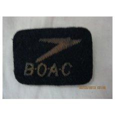 BOAC Cloth Badge