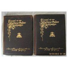 History of The Catholic Church in Australasia in 2 volumes - Cardinal Moran 1895