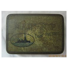 MAIN TOP Small Early 1900's Tobacco Tin