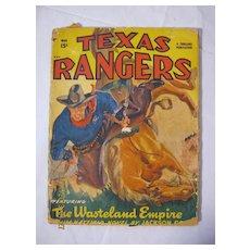 Texas Rangers Western - May 1949