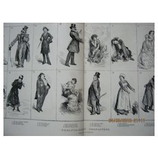 Twelfth-Night Characters - DPS Illustrated London News 1881