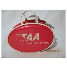 TAA Airlines Souvenir Child's Purse - Circa 1970's