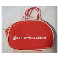 Northwest Orient Airlines Child's Purse - Circa 1970's