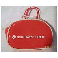 Northwest Orient Airlines Child's Purse - Circa 1970's