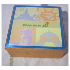 EVA Air Souvenir Trinket Box