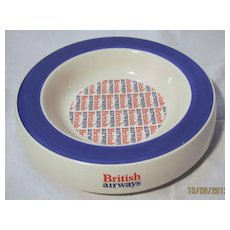 British Airways Large Promotional Cigar Ashtray
