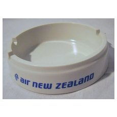 Air New Zealand Promotional Ashtray Circa -  1970