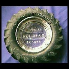 Dunlop Fieldmaster Advertising Tyre Ashtray