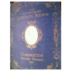 British Monarchy Coronation Record 1937 King George V1& Queen Elizabeth
