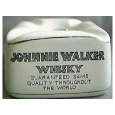 Johnnie Walker Tub Ashtray