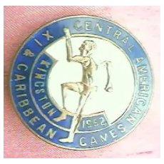 Badge 1X Central American Games 1962