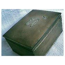 Tin State Express Cigarette Box