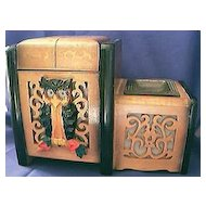 Musical Cigarette Box Circa 1920's
