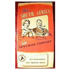 1950's South African Railways Brochure