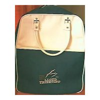 Vintage Lloyd Triestino Shipping Advertising Carry Bag