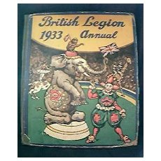 1933 British Legion Annual