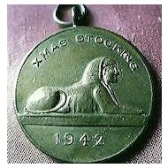 WW11 Christmas Stocking Medallion Egypt 1942