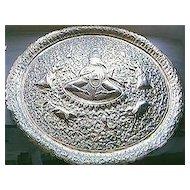 Vintage HINDU Large GANESHA, The Elephant God, Dish or Plaque