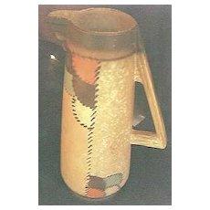 Gorgeous Circa 1930's Etrurian Pottery Art Deco Vase