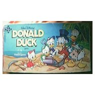 Vintage Donald Duck Board Game Circa 1960's