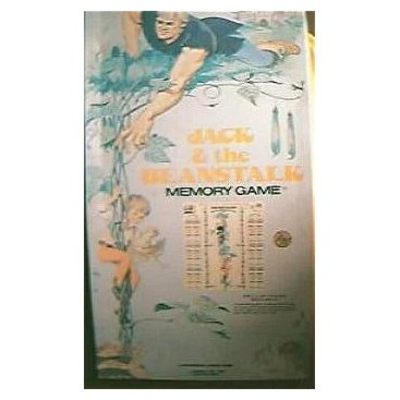 Vintage Jack and The Beanstalk Board Game 1976