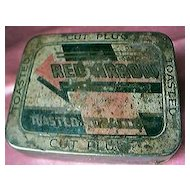 "Vintage ""RED ARROW""  Toasted Tobacco Tin"