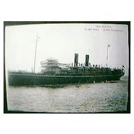 Vintage Shipping Post Card S.S. MALWA