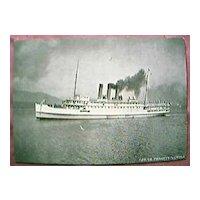 "Vintage Shipping Postcard Canadian Pacific Railways ""Princess Victoria"""