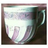 Victorian Porcelain Mustache Cup