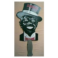 DARKIE Toothpaste Advertising Hand Fan