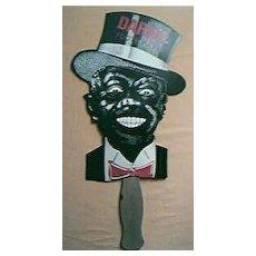 DARKIE Toothpaste Advertising Hand Fan