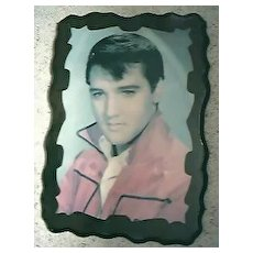 Elvis Presley Large Screen Printed Plaque