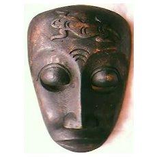 Vintage Tribal Gecko Mask