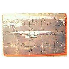 SABENA Airlines Postcard Jigsaw Circa 1960's