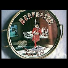 Beefeater Gin  Advertising Drinks Mirror Tray