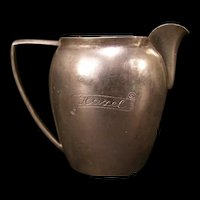 RARE~ Antique ~JOSEF PLEYER~ 800 Coin Silver German Miniature Water Pitcher Jug