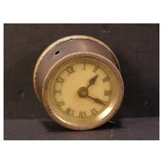 Vintage Sewing Figural Clothes TAPE MEASURE Souvenir Novelty Alarm Travel Clock