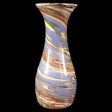 Vintage Arts & Crafts Desert Sands California Pottery Flower OxBlood Glossy Vase