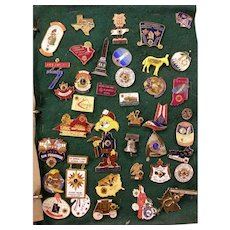 270+ 1970s Collection Vintage Lions Club Convention State Fraternal Pin